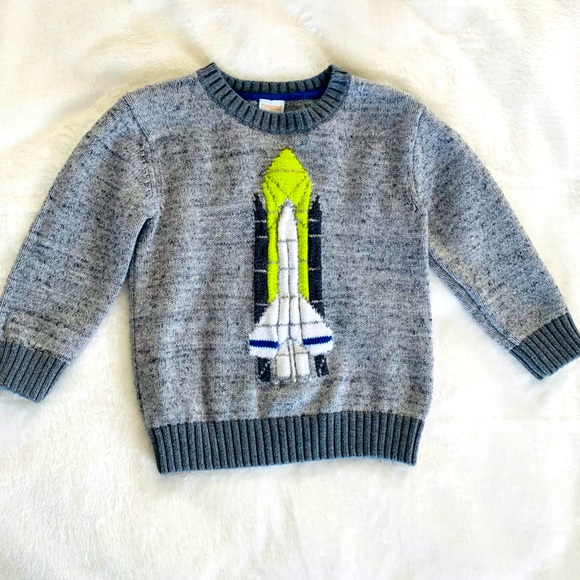 NWT Gymboree Baby Toddler Sweater Size 2T Gray Brown NEW